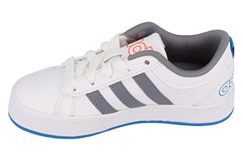 adidas Daily 9TIS K - Zapatillas Para Niño Blanco / Gris / Azul