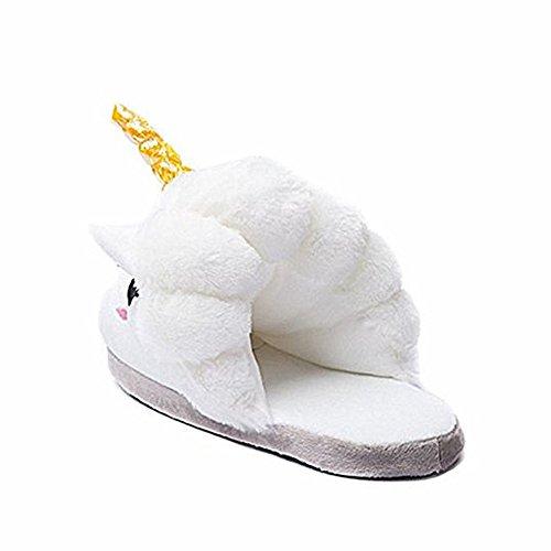 in 42 in memory 39 con pink adulti taglie alla foam unicorno dalla per peluche leggere da con U con pois U 39 donna europee motivo white Pantofole adatte JYSport wq0vPxgF