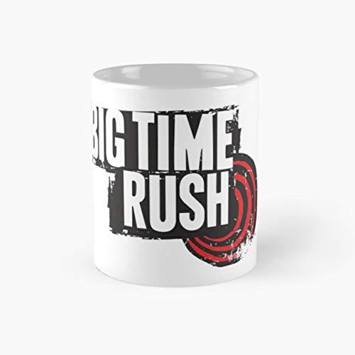 Big Time Rush Mug, kids Cup, 11 Ounce Ceramic Mug, Perfect Novelty Gift Mug, Funny Gift Mugs, Funny Coffee Mug 11oz, Tea Cups 11oz