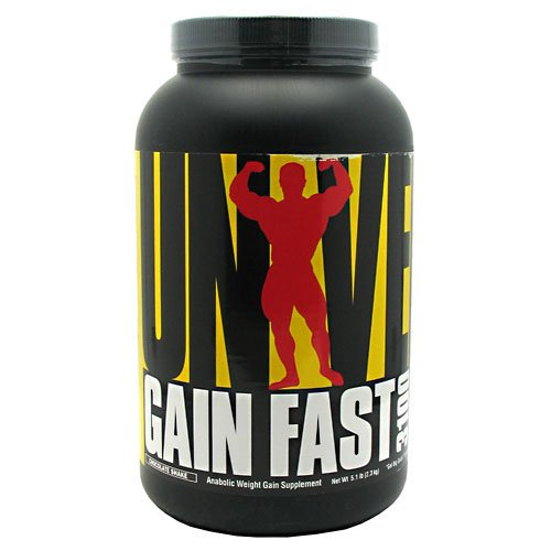 Gain Fast 3100 - Chocolate - Universal Nutrition - 5.1 lbs. - Powder