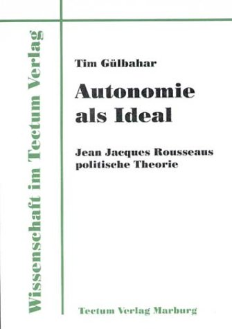 Autonomie als Ideal (German Edition)