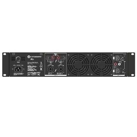 Crown XLi 2500 Amplificador PA puenteable 1500W RMS: Amazon.es: Electrónica