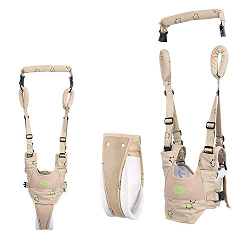 Woltechz Baby Walker Toddler Walking Harness, 4 in 1 Functional Adjustable Baby Walking Assistant for Baby, Safety Stand Up and Walking Learning Helper for Baby 7-24 Months ()