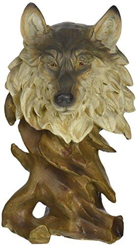 StealStreet SS-UG-PY-268 Wolf Bust Decoration Figurine