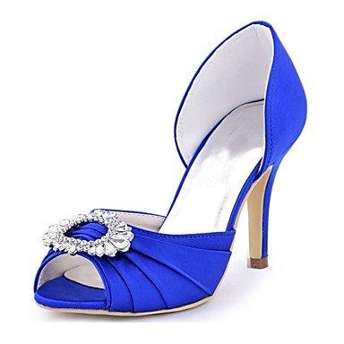 Las Mujeres'S Satén 5 Stiletto Heelivory Bomba RTRY CN40 Verano Noche Azul amp;Amp; De Stretch Básica Shoes UK6 Crystal US8 5 Wedding Verde EU39 Boda Borgoña Primavera d5x010