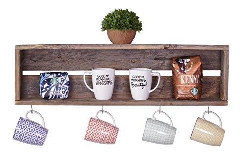 DAKODA-LOVE-Rustic-Coffee-Bar-Floating-Shelf-USA-Handmade-Reclaimed-Wood-Barnwood