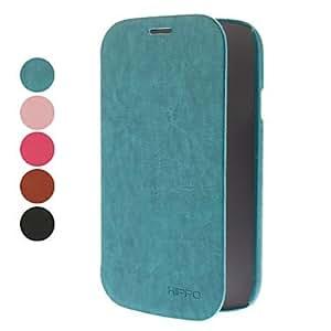 compra Caja de cuero de la PU para Samsung Galaxy I9082 Gran DUOS (colores surtidos) , Marrón