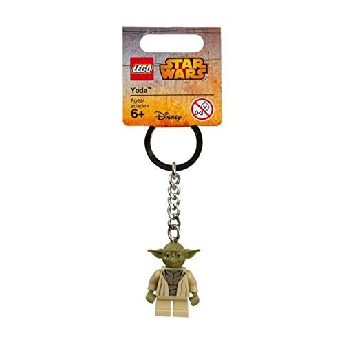 LEGO Star Wars Yoda 2015 Minifigure Key Chain 853449 -