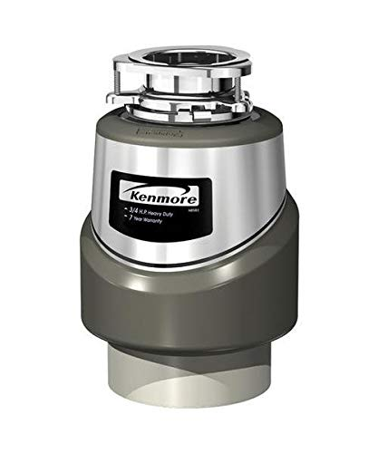 587-70351E Garbage Disposal, 3/4-HP Genuine Original Equipment Manufacturer (OEM) - Kenmore Garbage Disposer