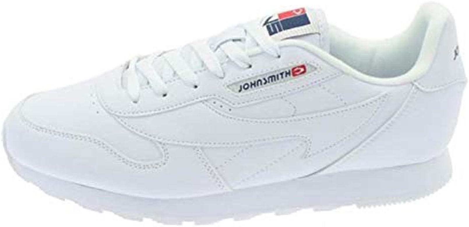 John Smith J.Smith Cresir Zapatillas Hombre Casual Clásicas Blancas (30 EU): Amazon.es: Zapatos y complementos