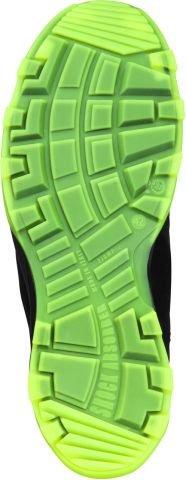 Heckel Sicherheitsschuhe RUN-R 200 S1P SRC 40 schwarz/grün