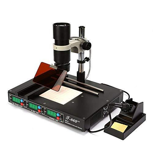 T862++ BGA IR Infrared IRDA Welder Heating Rework Desoldering Station machine US