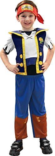 Rubies Jake y los Piratas de Nunca Jamás - Disfraz de Jake, Talla 3 ...