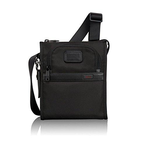 TUMI Alpha 2 Pocket Bag Small, Black