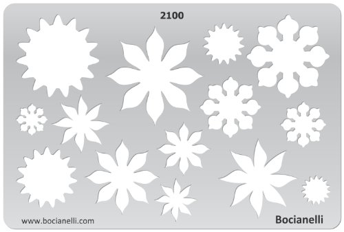 Plastic Template Graphical Drafting Jewellery product image