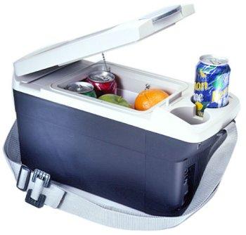 Consumer Electronics Sharper Image Hot And Cold Portable Car Home Mini Fridge