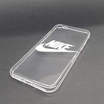 buying now shoes for cheap sneakers custom-cases Coque Housse pour Mobile Housse Logo Nike Blanc avec Arrière  Transparent - Samsung Galaxy A8 (2018)