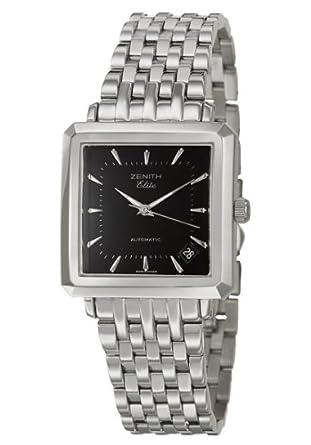 a02da1d7c93 Amazon.com  Zenith New Vintage 1965 Men s Automatic Watch 02-0100-670-21   Watches