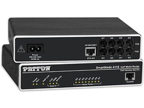 Patton SmartNode 4114 2-FXS & 2-FXO VoIP Gateway