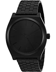 Nixon Men's Time Teller Analog Watch in All Black (A045-001)
