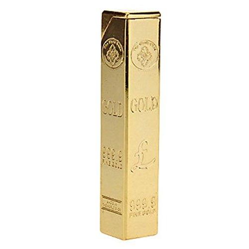 Gold Cuboid Gas Lighter - One Lighter (Lighter Gold)