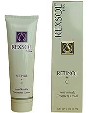 REXSOL Retinol & C Anti-Wrinkle Treatment Cream, 60ml