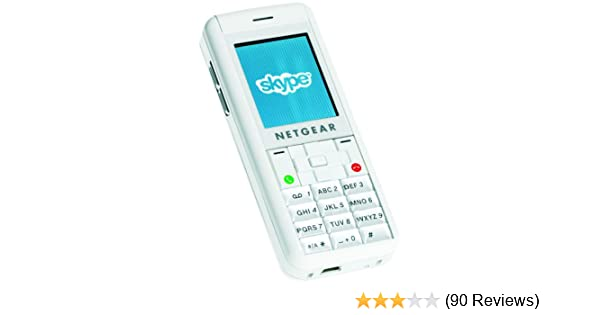 NETGEAR SPH200W WiFi Phone with Skype