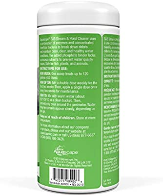 Water Treatment Powerful Reduces Ammonia Nitrite and Phosphate 7 Pound Binder