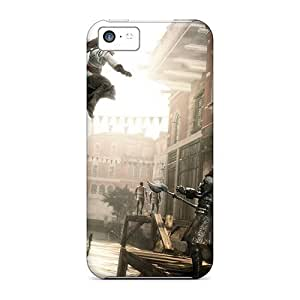 Durable Defender Cases For Iphone 5c Tpu Covers(assassins Creed Ii)