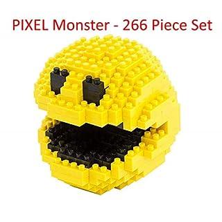 Pixel Monster - 266 Piece Nano-Size Nanoblock Mini Bricks - Brick Block Building Set