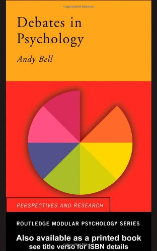Debates in Psychology (Routledge Modular Psychology)