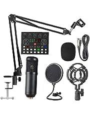 BM800 Condensor Microfoon Kit V8 Geluidskaart Microfoon Condensatorset voor het streamen van audioapparatuur