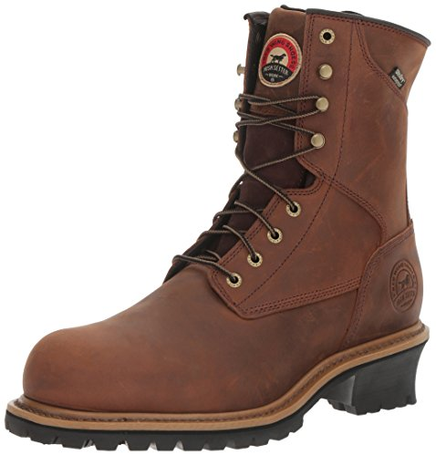 Irish Setter Work Men's Mesabi 83829 Work Boot Brown 10 D US