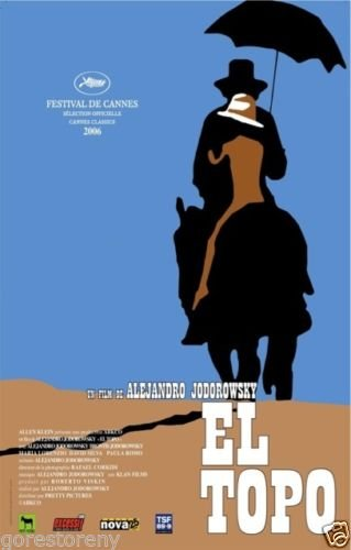 El Topo  Movie Poster 24x36