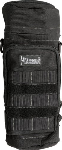 (Maxpedition 12-Inch X 5-Inch Bottle Holder (Black))
