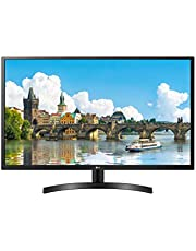 "LG 32MN500M-B 32"" FHD IPS Monitor, NTSC 72%, 5ms (GTG), 75Hz, HDMI, FreeSync, Black Stabilier, VESA (100mm x 100mm), Black"