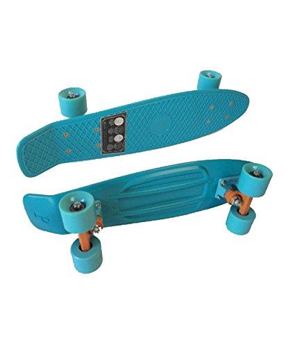 Penny Classic Complete Skateboard, Blue Velvet, 22″