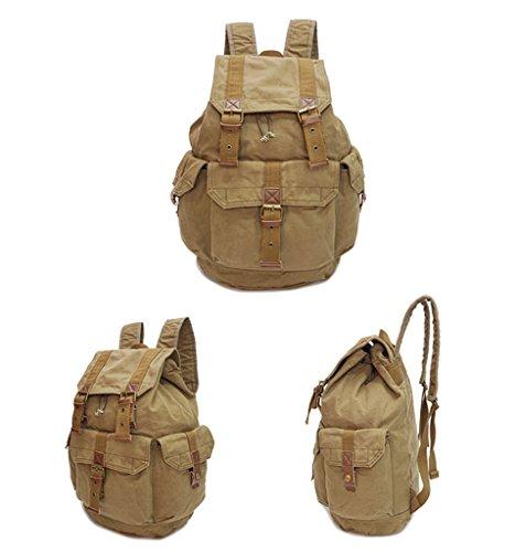Sucastle beiläufige Art und Weise Travel Bag Umhängetasche Tasche Sucastle Farbe: armygrün Größe: 50x34x22cm