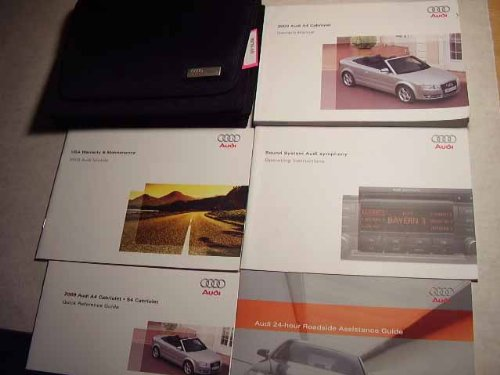 2009 audi a4 owners manual - 2