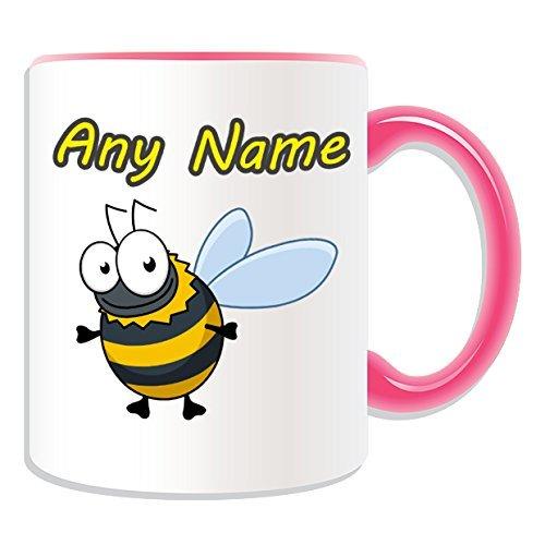 Personalised Gift - Bumblebee Mug (Animal Insect Design T...