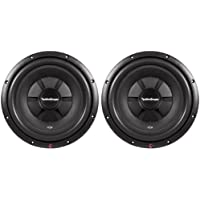 2) ROCKFORD FOSGATE R2SD4-12 12' 1000W Car Shallow Mount Slim Subwoofers Subs