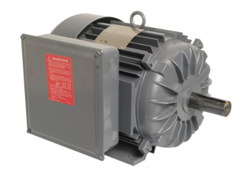 A.O. Smith K311 7-1/2 HP, 1800 RPM, 1 Speed, 230 Volts, 34 Amps, 1 Service Factor, 215T Frame, Manual Protector, TEFC Enclosure Farm Duty Motor