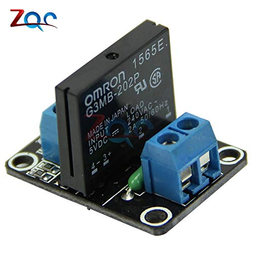 Electrical Equipments Dc 5V 1 2 4 8 Channel Relay Module Solid State Relay High Level Trigger Effective Ssr Avr Dsp Board For Arduino - (Size: 5V 1 Channel) ()