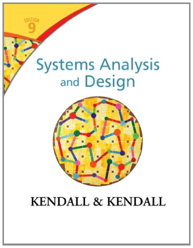 Systems Analysis and Design (9th Edition) by Pearson