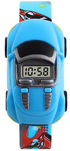 Buy boys blue sport theme watches