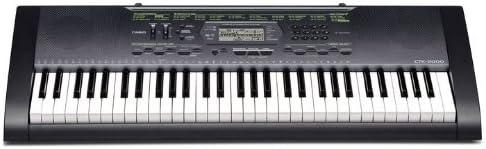 Casio CTK-2000 - Teclado MIDI (61 llaves, USB, 3,8 kg, Windows XP/Vista - Mac OS X 10.3, 949 x 354 x 112 mm, 9V DC, 7.7W)