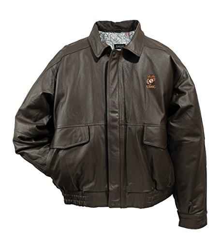 Burk's Bay USMC Leather Jacket XXL