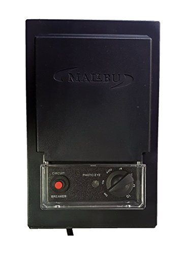 Malibu 3100-1120-01 120 Watt Low Voltage Transformer, Photo Eye Sensor and Timer