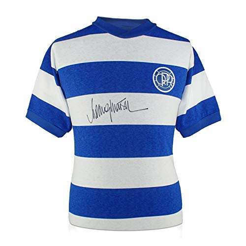 Rodney Marsh Signed Queens Park Rangers Soccer Jersey for sale  Delivered anywhere in USA