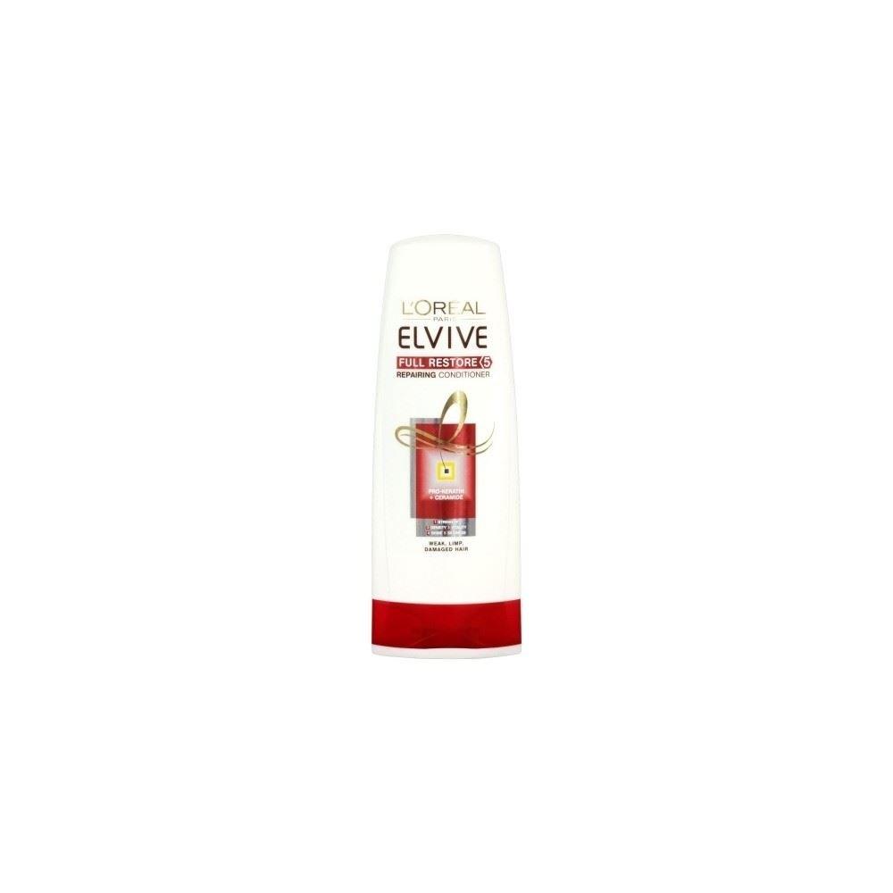 L'Oréal Paris Elvive Full Restore 5 Replenishing Conditioner (250ml) - Pack of 2 Groceries